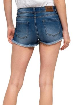 Shorts Superdry Denim Hot Damen