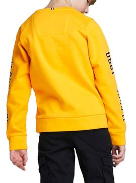 Sweatshirt Jack and Jones Covictor Yellow Junge