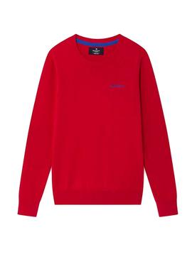 Pullover Hackett Classic CRW Rot Junge