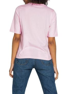 T-Shirt Lee Cansas Rosa Damen