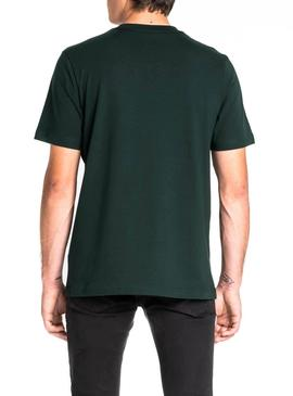 T-Shirt Lee Tech Grün Herren