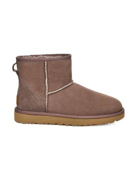 Stiefelettes UGG W Classic Mini Brown Damen