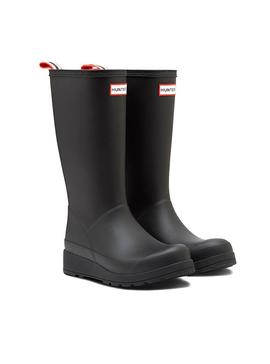 Stiefelette Hunter Original Play Tall Black