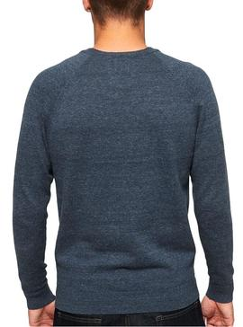 Pullover Superdry Orange Label Blau Für Herren