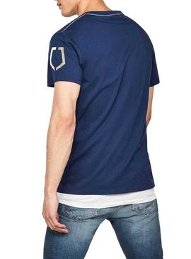 T-Shirt G-Star Shield Blau Für Herren