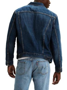 Jacke Levis The Trucker Blau Herren