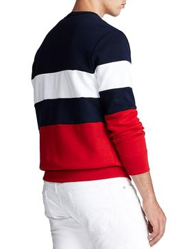 Sweatshirt Polo Ralph Lauren Colorblock Marine