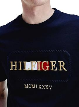 Camiseta Tommy Hilfiger Icon Rope Marino Hombre