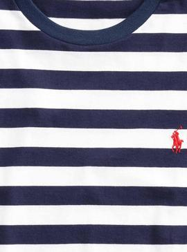 T-Shirt Polo Ralph Lauren French Blau Herren