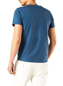 T-Shirt Dockers Graphic Blue für Herren