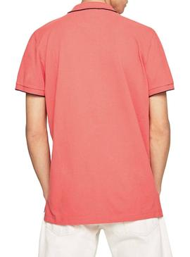 Polo Pepe Jeans Lucas Coral Herren