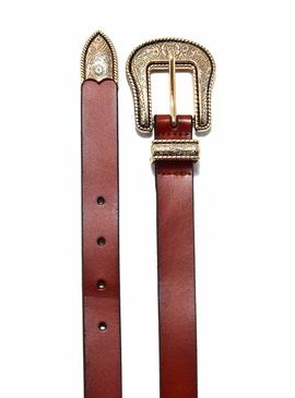 Belt Only Annlise Leather Camel for Woman