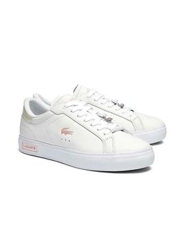 Sneaker Lacoste Powercourt 0921 Weiss Damen