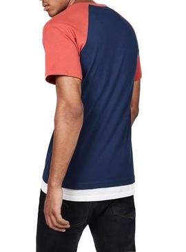 T-Shirt G-Star Buckston Blue für Herren