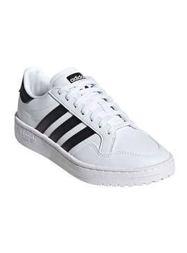 Sneaker Adidas Team Court Junior Weiss Junges
