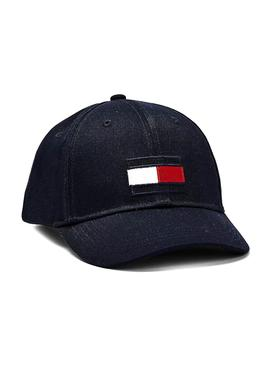 Kappe Tommy Hilfiger Big Flag Blau Marineblau