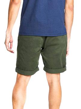 Shorts Tommy Jeans Essential Chino Grün Mann